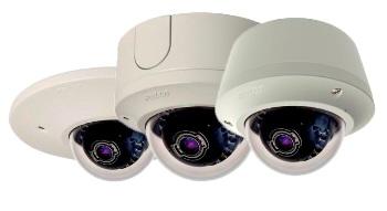 Уличные мегапиксельные IP-видеокамеры с H.264 и M-JPEG